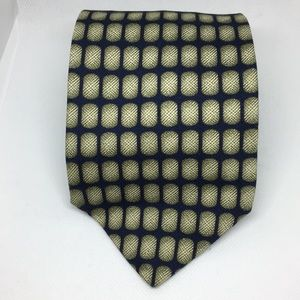 Structure Silk Blue and Green Tie